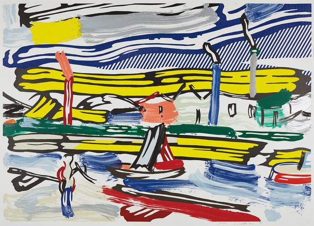 Roy Lichtenstein, 'The River, from Landscapes Series', 1985, Phillips