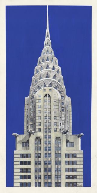 Richard Haas, 'Chrysler Building.', 1997, The Old Print Shop, Inc.