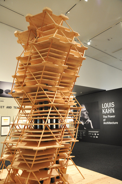 , 'City Tower Project (model),' 2012, Bellevue Arts Museum