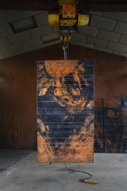", '""Cosmos 68-05"", Set of five panels, from Tour Aquitaine, La Defense (Hauts-de- Seine),' 1967, Magen H Gallery"