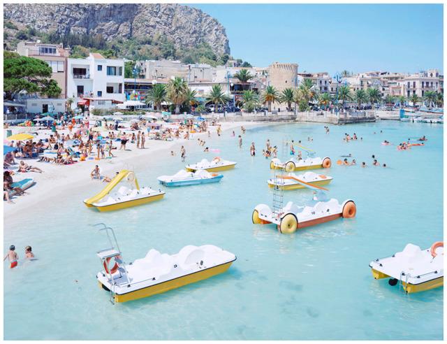 Massimo Vitali, 'Mondello Paddle Boats', 2007, IFAC Arts