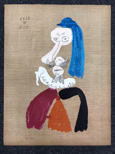 Pablo Picasso, 'Portraits Imaginaires 6.4.69', 1969, DANE FINE ART