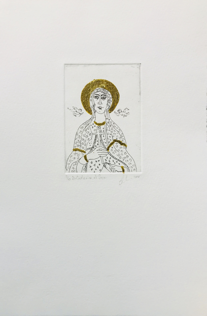 , 'Saint Catherine of Sienna,' 2018, Queenscliff Gallery & Workshop