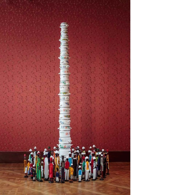 , 'Colonne Coloniale,' 2015, Boca Raton Museum of Art