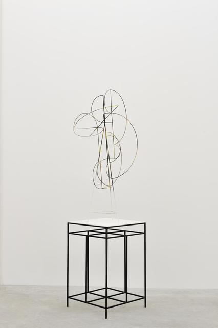 Matthias Bitzer, 'The Architect', ca. 2013, Sculpture, Metal, lacquer, wood, Almine Rech