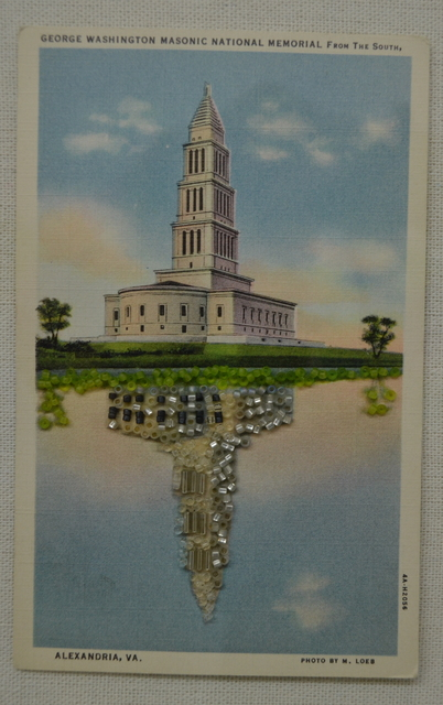 , 'Untitled (George Washington Masonic National Memorial from the South),' 2017, Ro2 Art