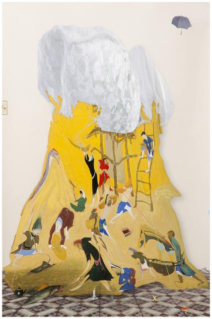 , 'no title,' 2015, Galerie Valentien