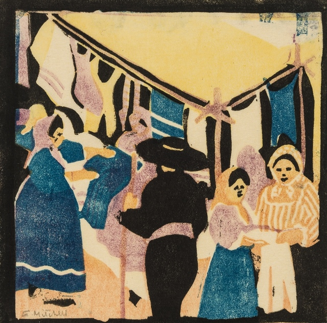 Enid Mitchell, 'At the fair', circa 1930, Forum Auctions