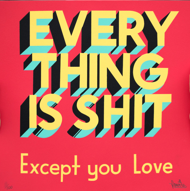 Stephen Powers, 'EVERYTHING IS SHIT', 2017, EHC Fine Art