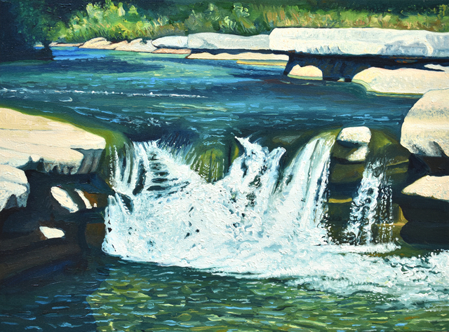 David Leonard, 'Streaming Bull Creek', Davis Gallery & Framing