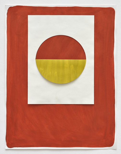Alberto Casari, 'Untitled', 2014, Drawing, Collage or other Work on Paper, Acrylic painting, collage on paper, Galería Lucia de la Puente
