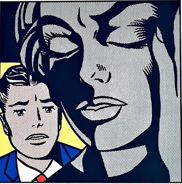 Roy Lichtenstein, 'Tension, 1964 for Art Basel', 1987, Alpha 137 Gallery Auction