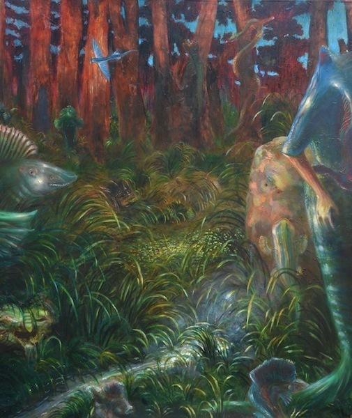 , 'Pesci fuor d'aqua (sono evoluzionista),' 2014, MONITOR