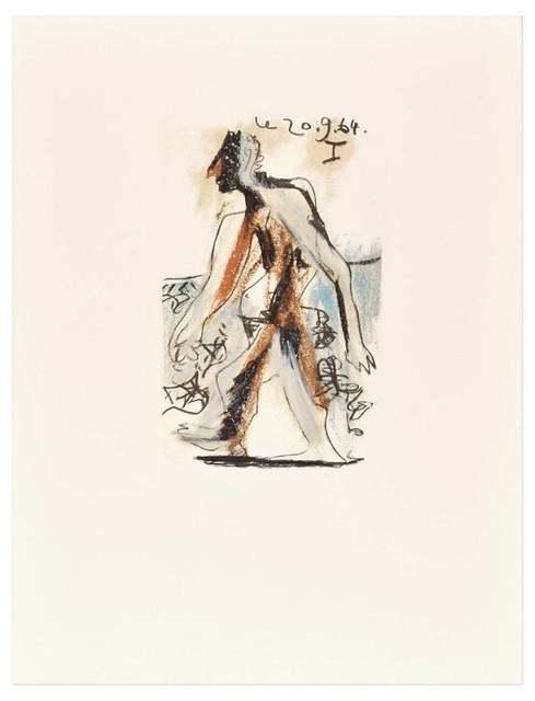 Pablo Picasso, 'Le goût du Bonheur - 20.9.64 I (Afeter) P. Picasso', 1998, Wallector