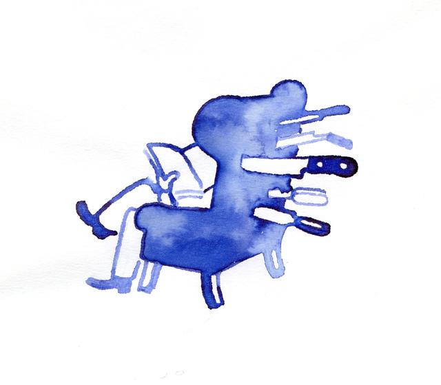 , 'Stabbed Armchair,' , Bluerider ART