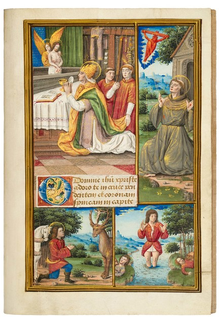 Jean Pichore, 'Book of Hours for Louis XII, use of Rennes', 1500-1515, Dr. Jörn Günther Rare Books