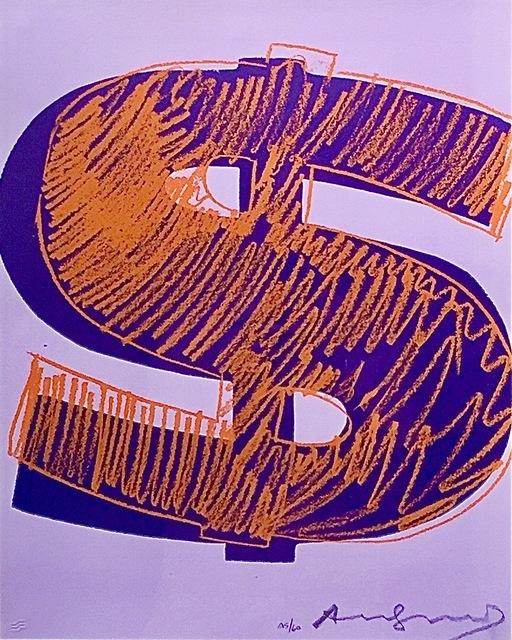 Andy Warhol, 'Single Dollar $ (FS-II.275)', 1982, Print, Screenprint on Lenox Museum Board, Taglialatella Galleries