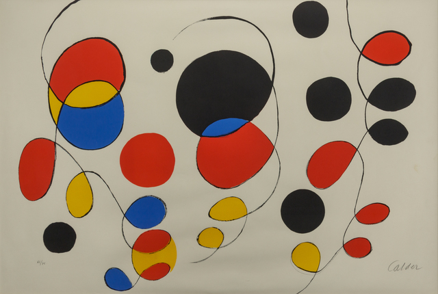 Alexander Calder, 'Copeaux de couleurs', Hindman