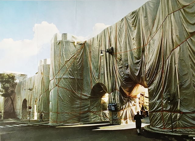 Christo, 'The Wall - Wrapped Roman Wall Project ', 1974, Alpha 137 Gallery
