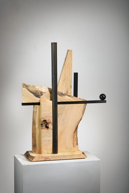 Betty McGeehan, 'Minimal Wood Abstract Sculpture: 'Alternate Route'', 2018, Ivy Brown Gallery