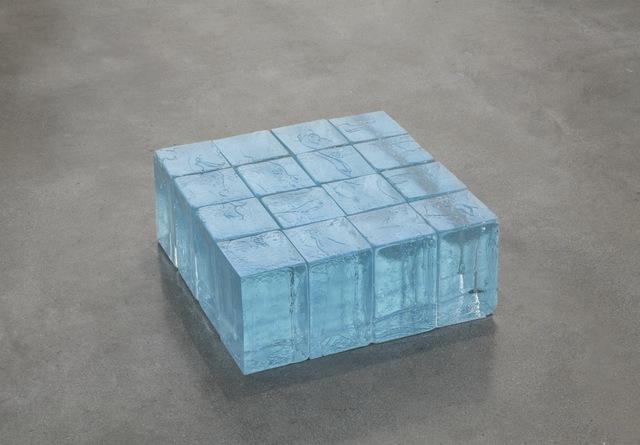 , '16 Blue Blocks (405) ,' 2017, Alfonso Artiaco