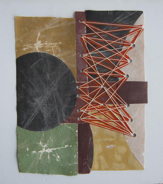 , 'Sandpaper Collage,' 2018, Galerie Franzis Engels