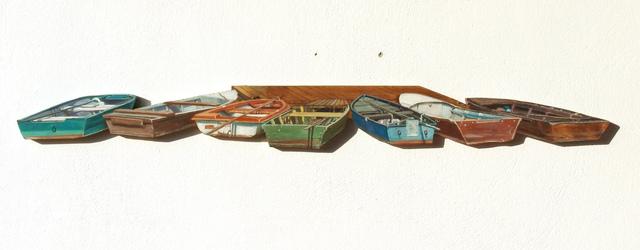 , 'Seven boats,' 2013, Faur Zsofi Gallery