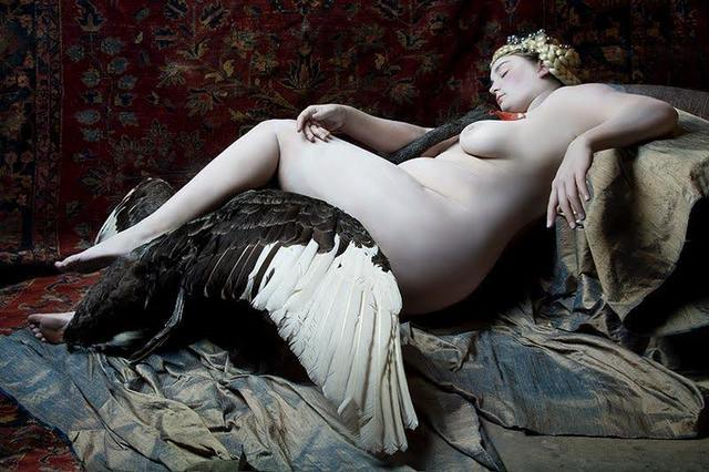 , 'Leda and the Swan,' 2012, Conde Contemporary