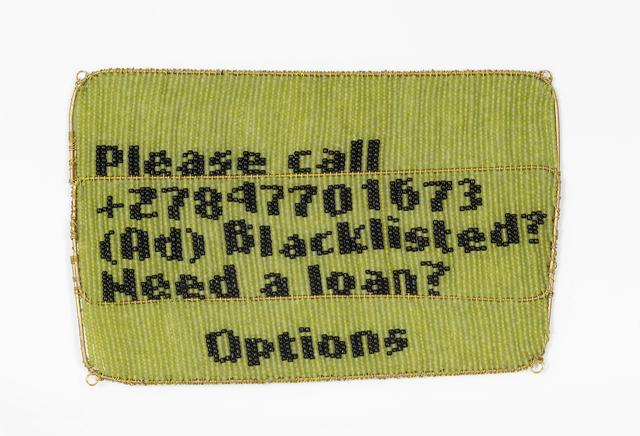 Dan Halter, 'Untitled (Please Call Me)', 2018, WHATIFTHEWORLD