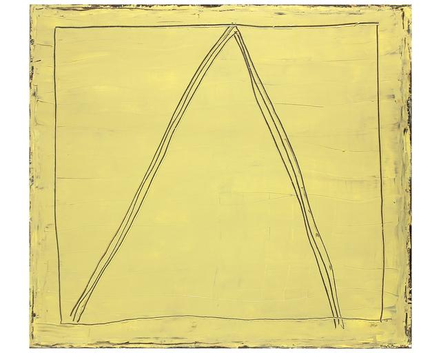 , 'Ways on golden field,' 2000, Galería Marita Segovia