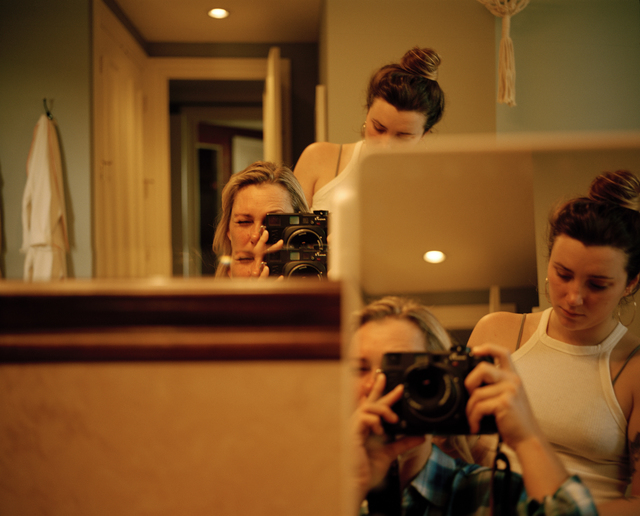 Kaitlin Maxwell, 'Mom Taking a Photo of Us, Florida', 2018, Yancey Richardson Gallery