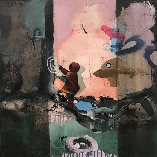, 'Boy with Toy Gun,' 2017, Weinstein Gallery
