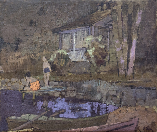 John Fox, 'Quebec Countryside', 1958, Oeno Gallery