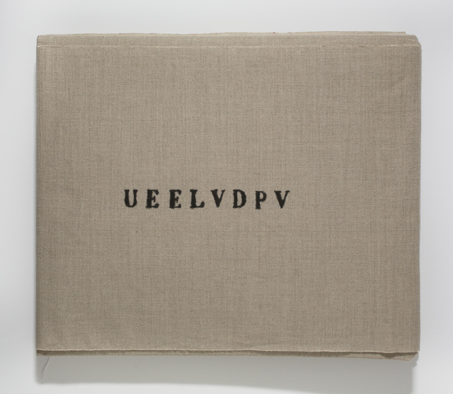 , 'UEELVDPV,' 2016, Library Council of the Museum of Modern Art / Editions TAKE5