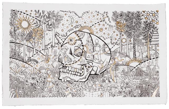 , 'Le Crâne,' 2016, Michel Soskine Inc.