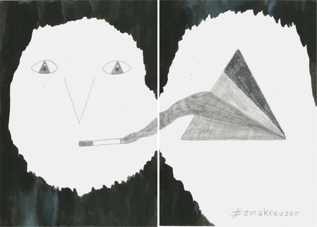 , 'La noche es nuestra (#zorakreuzer),,' 2018, Estrany - De La Mota