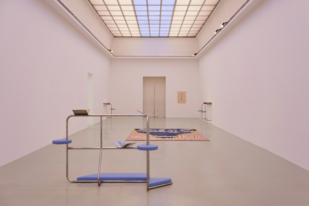 Slavs and Tatars »Sauer Power« Installationsansicht Kunstverein Hannover, 2018 Foto: Raimund Zakowski Courtesy the artist; Kraupa-Tuskany Zeidler, Berlin