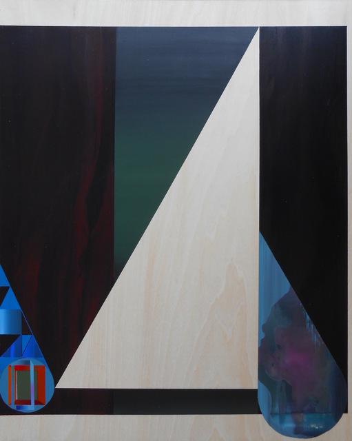 , 'Feedback Loop with Earring (Sabiá Zabelê Electronic),' 2015, Morgan Lehman Gallery