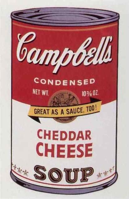 Andy Warhol, 'Cheddar Cheese Soup II', 1969, Toshkova Fine Art Advisory