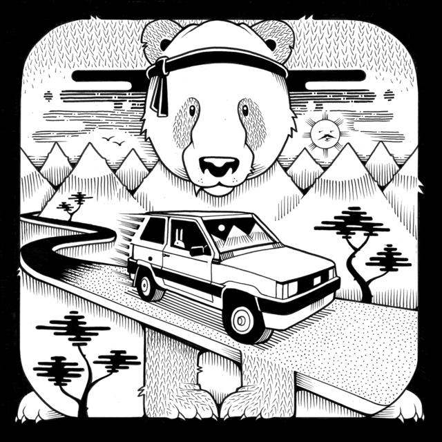 , 'Miranda Fiat Panda,' 2017, Jonathan LeVine Projects