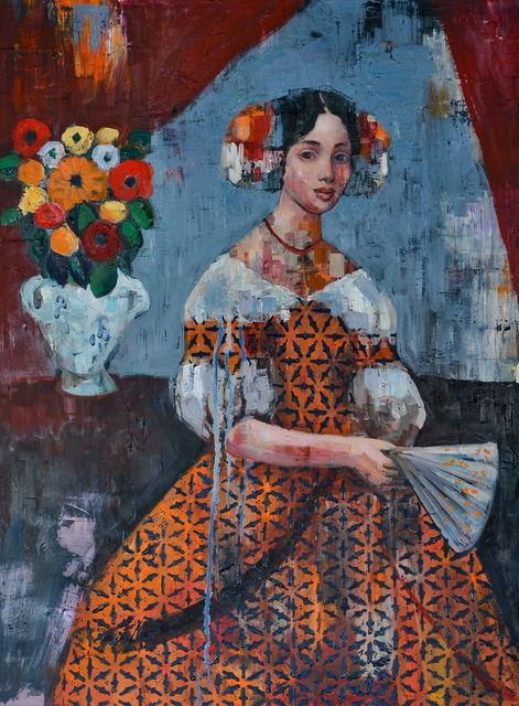 , 'Madam and Flower,' 2017, HOHMANN