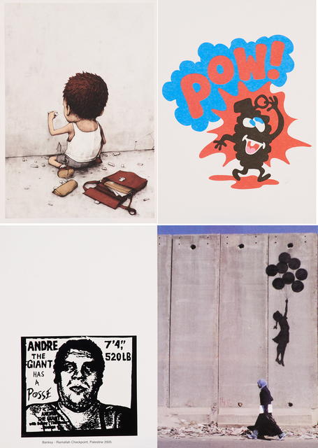 dran, 'I Have Chalks (Unfinished) / POW / Ramallah Checkpoint, Palestine', Rago