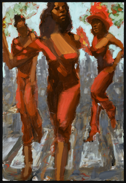 , 'Red Dresses,' 2017, Adelson Galleries