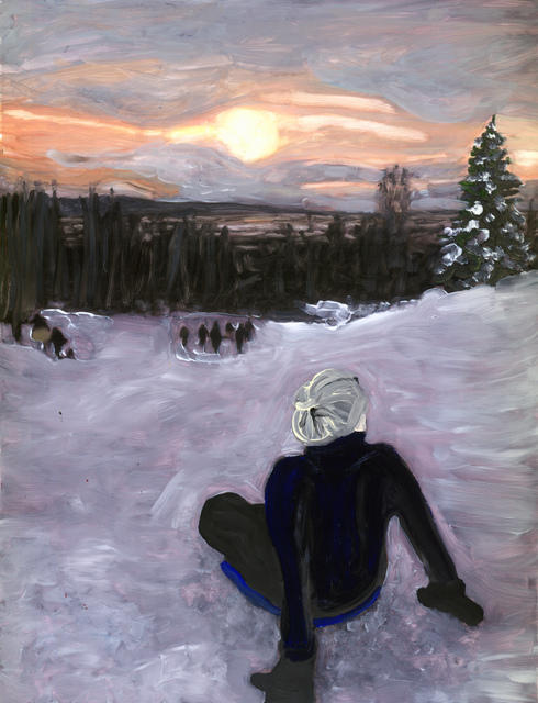 , 'top of the hill,' 2018, Marloe Gallery