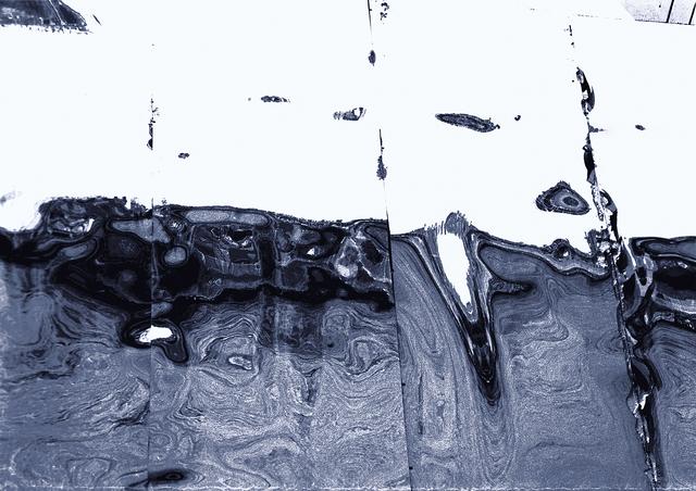 , 'Roosevelt Blue,' 2017, Neue Galerie Berlin