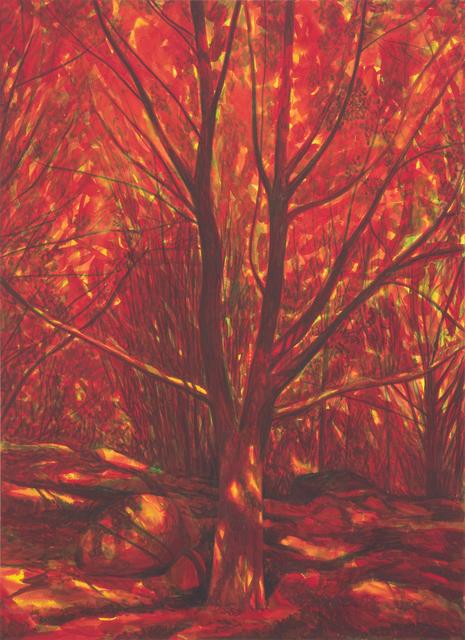 Martin Jacobson, 'Rött träd/Red tree', 2013, Andréhn-Schiptjenko