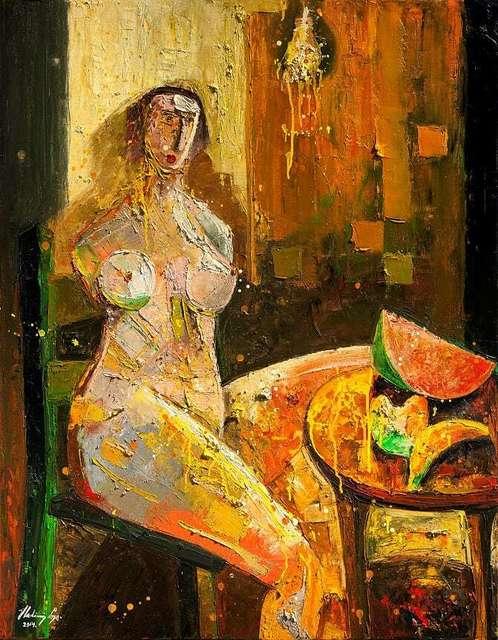 Vladimir Cora, 'Untitled', 2014, Painting, Original Acrylic on Canvas, Ethos Contemporary Art