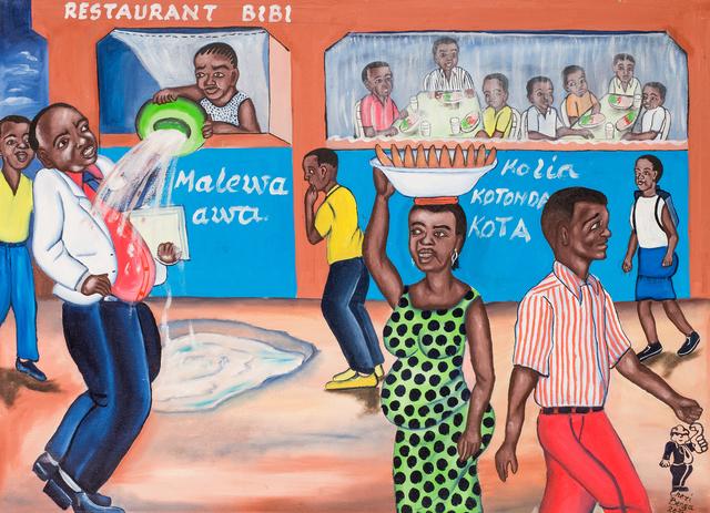 , 'Restaurant Bibi,' 2010, Africa Bomoko