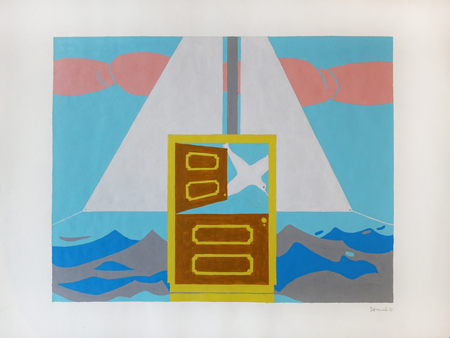 , 'Untitled (Surreal Sail),' 1981, Hollis Taggart Galleries