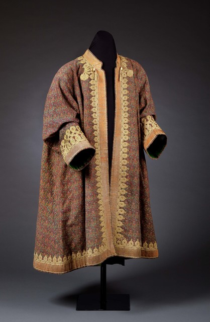 , 'Man's Coat with Woven Boteh and Floral Motifs; Iran,' , Newark Museum